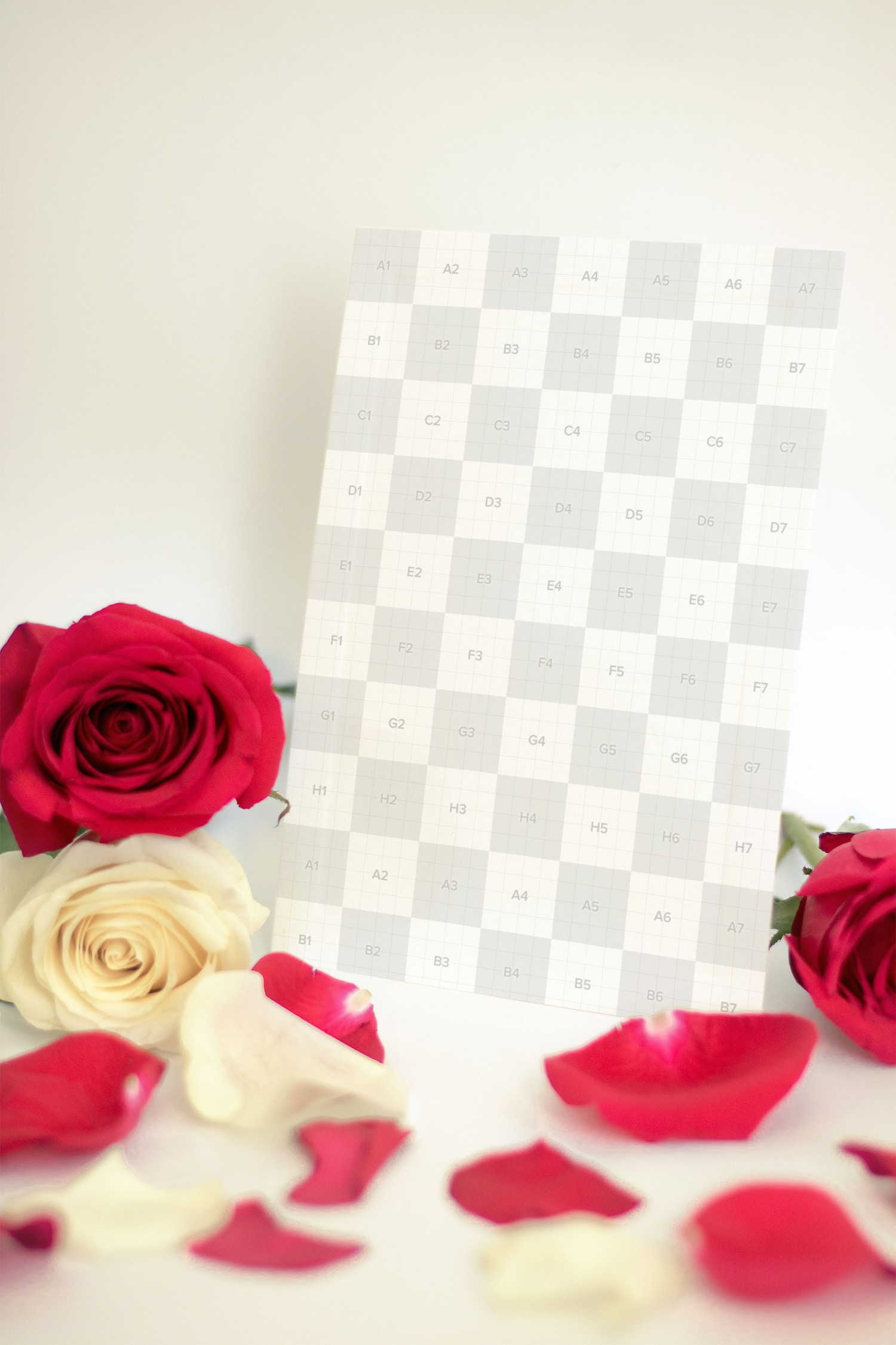 Valentine Card Mockup 06 (2) by Eru  on Original Mockups