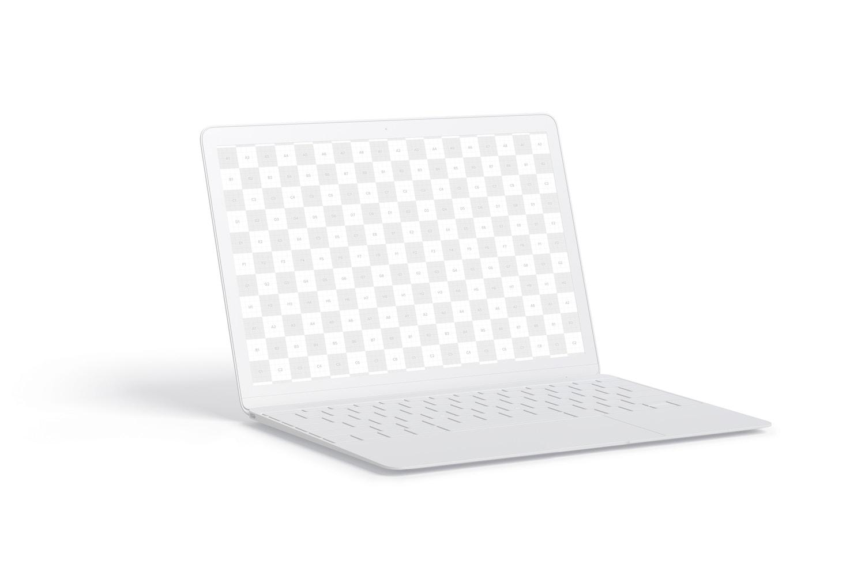 Clay MacBook Mockup, Left View (2) by Original Mockups on Original Mockups