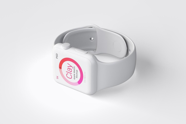 Maqueta de Apple Watch Multicolor 03