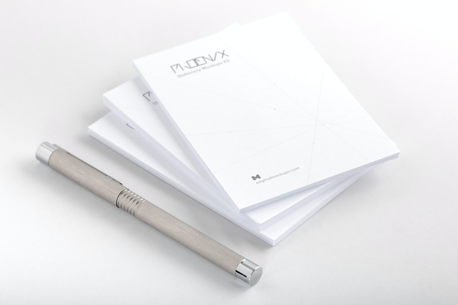 Stack of Memo Mockup by Original Mockups on Original Mockups