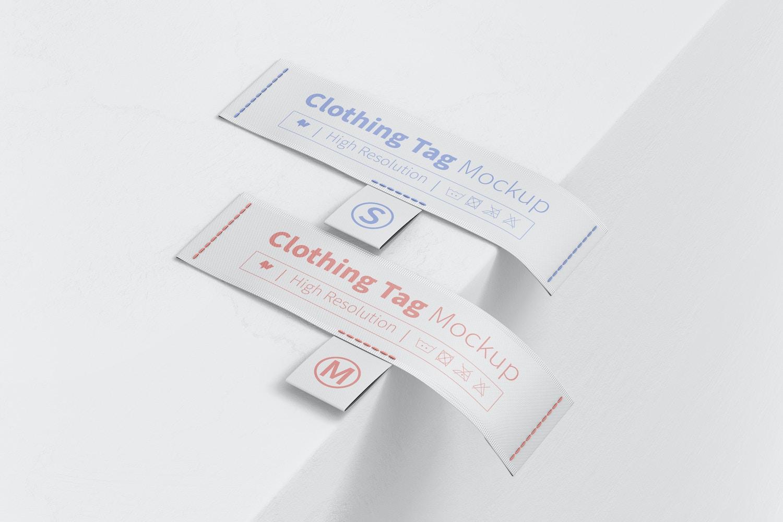 Clothing Tags Mockup