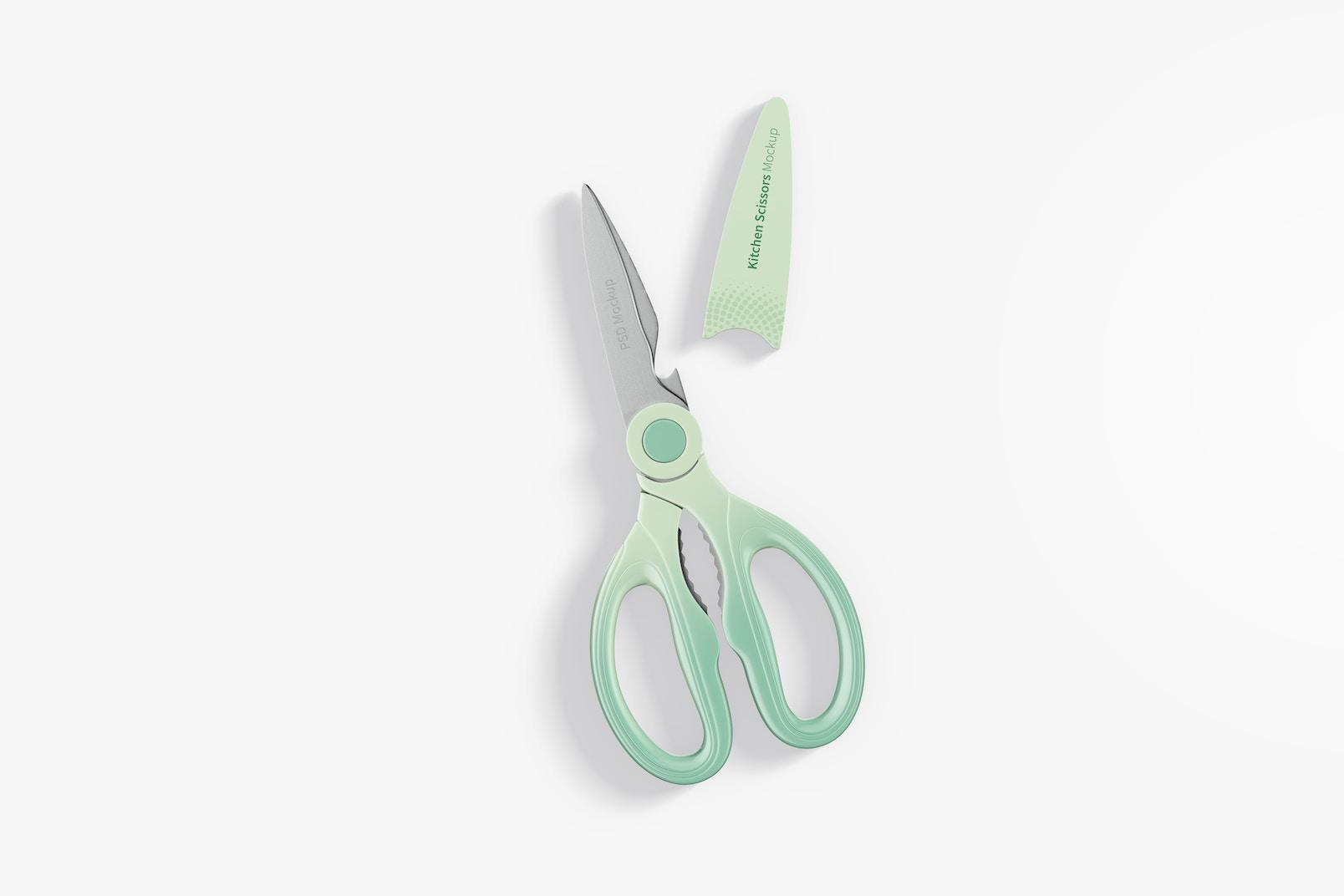 Kitchen Scissors Mockup