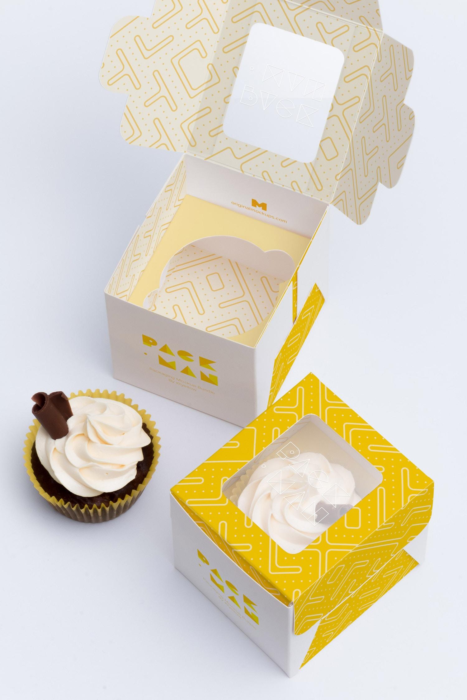 Maqueta para un Cupcake 01