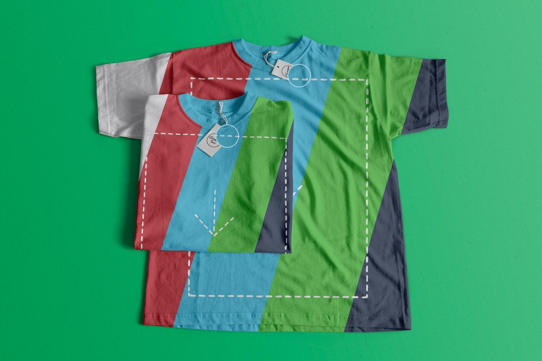 T-Shirts Mockup 02 (2) por Antonio Padilla en Original Mockups