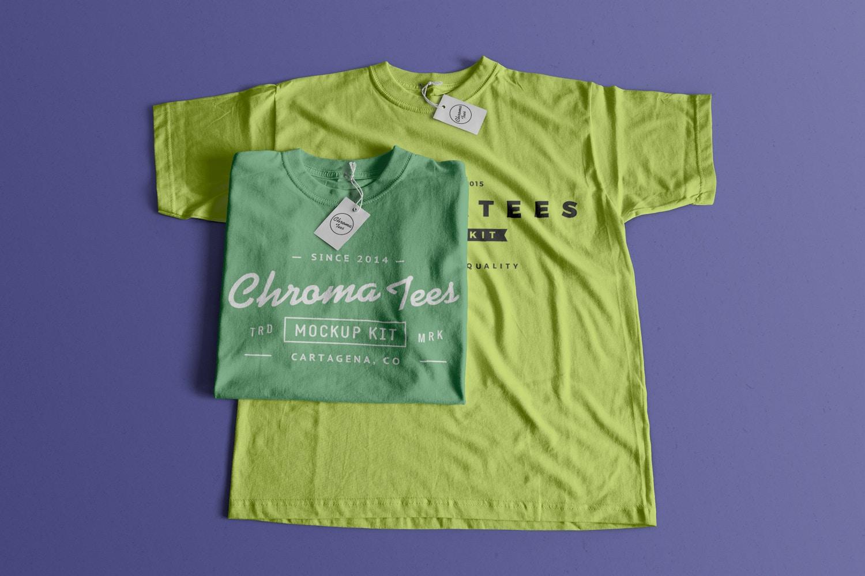 T-Shirts Mockup 02 (1) por Antonio Padilla en Original Mockups