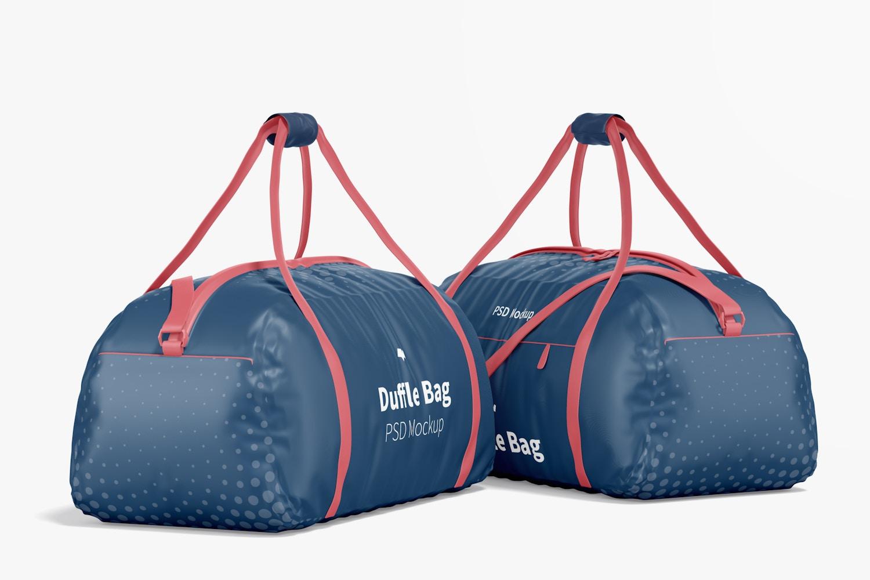 Duffle Bags Mockup