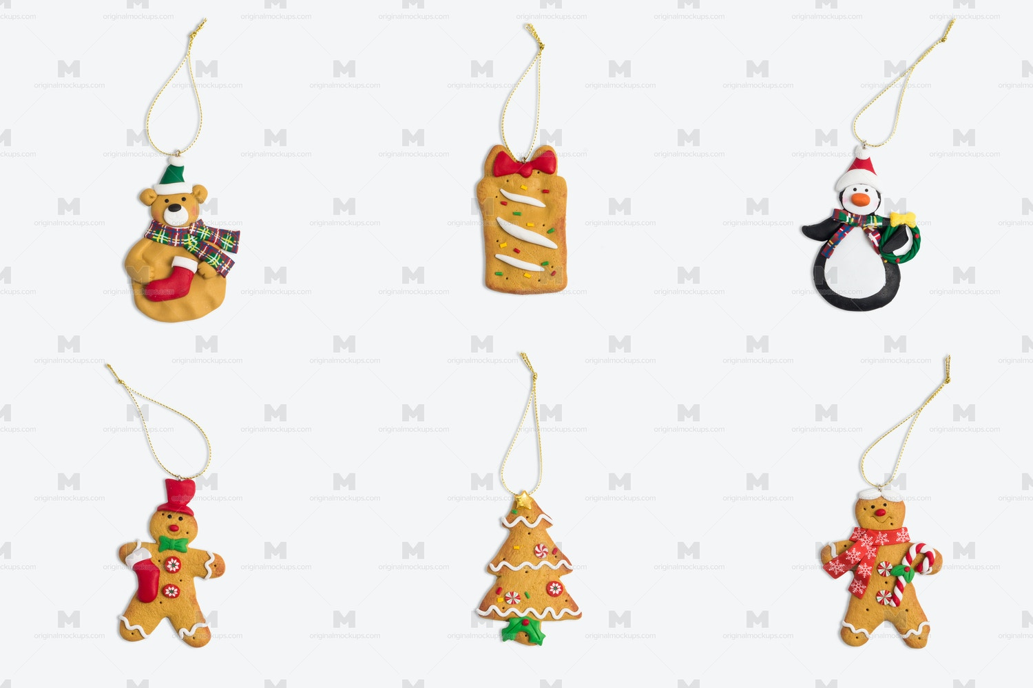 Christmas Decor Isolate Objects 02 por Original Mockups en Original Mockups