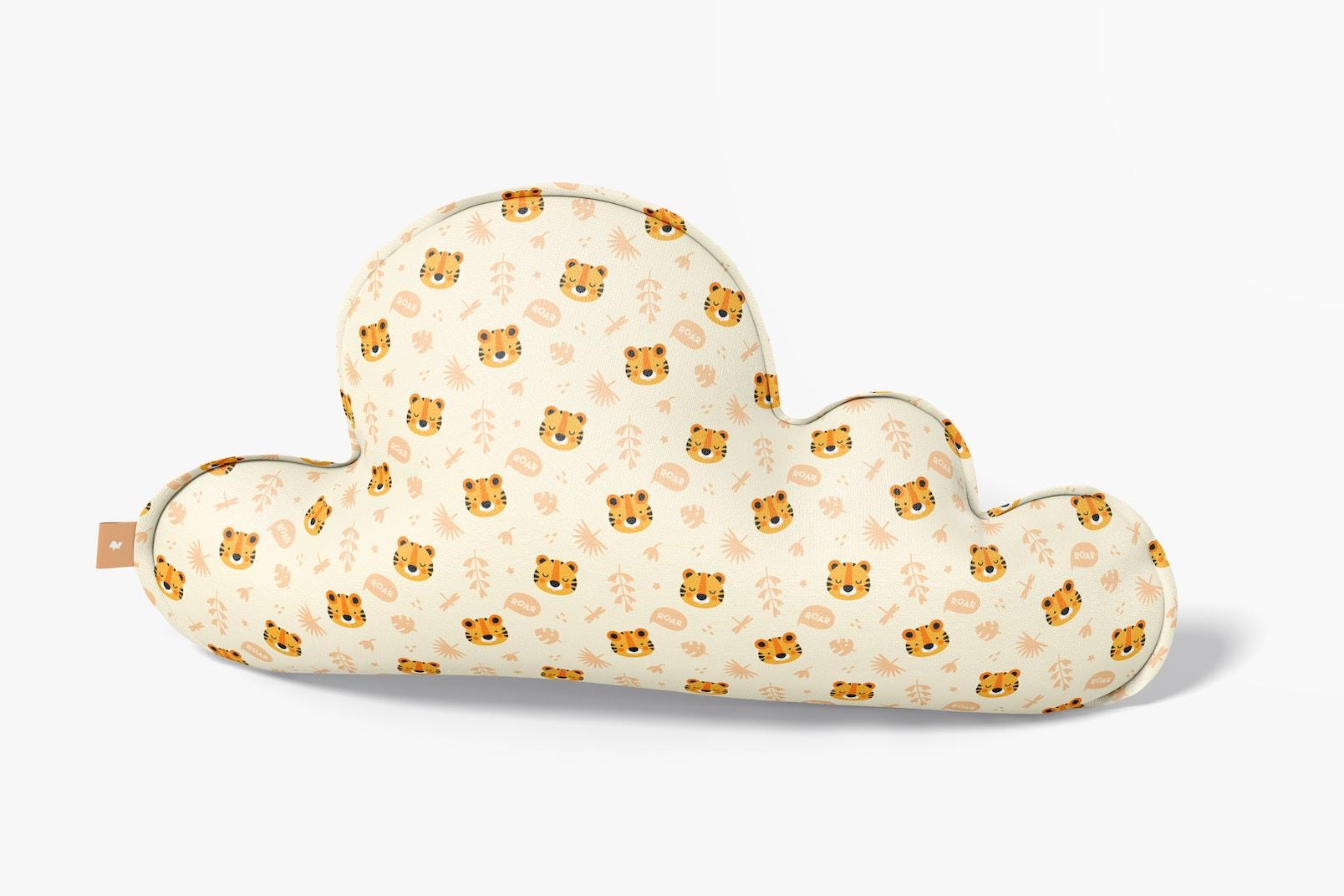 Cloud Pillow Mockup