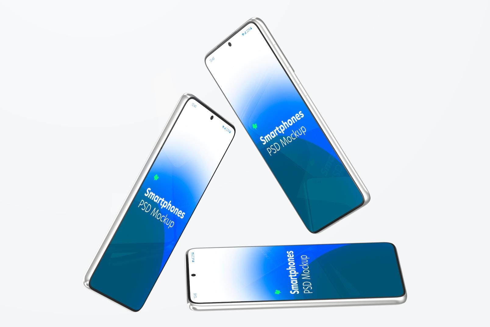 Samsung S21 Set Mockup