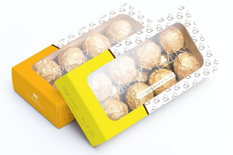 Maqueta para Caja de Dulces 07 por Ktyellow  en Original Mockups