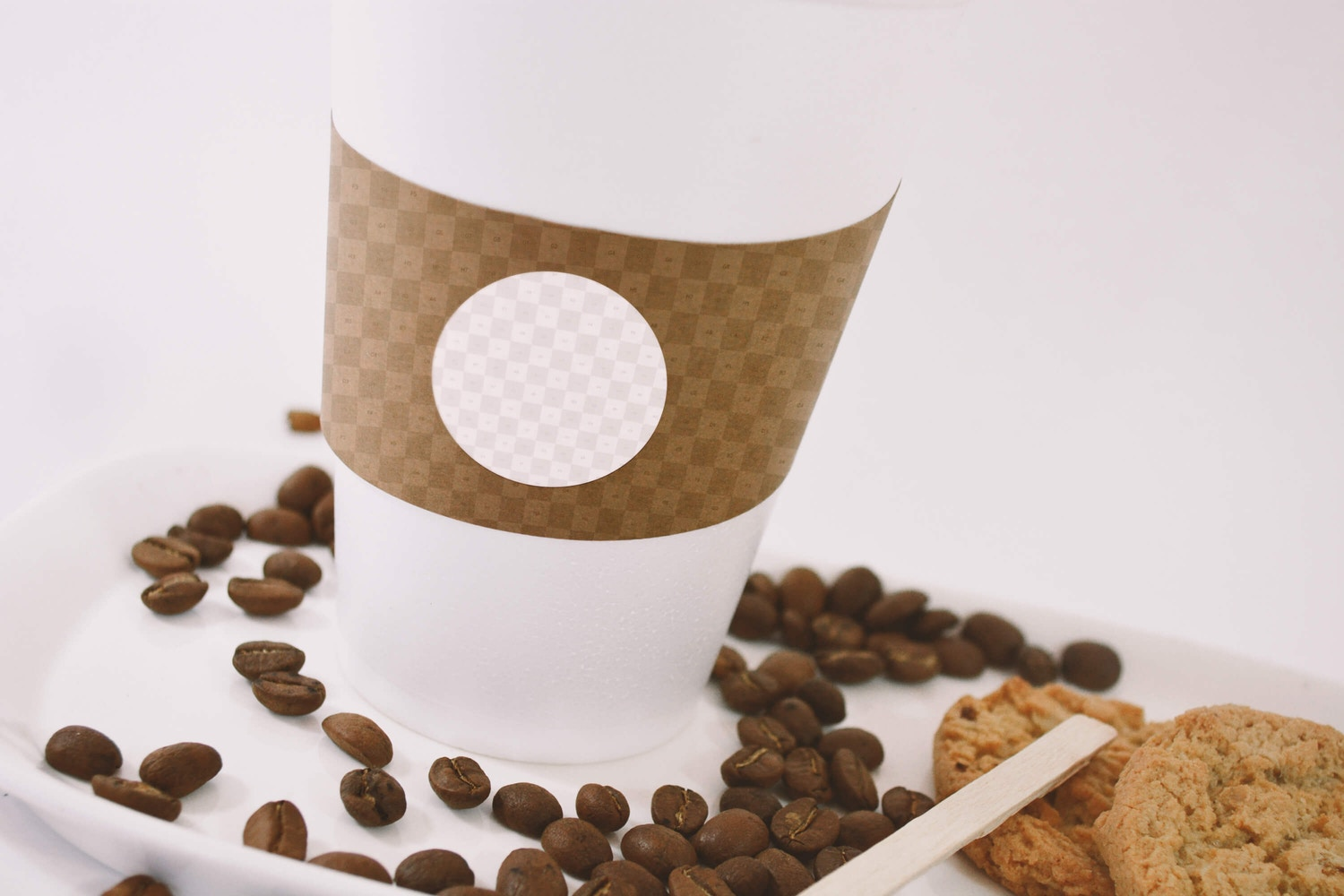 Large Coffee Cup Mockup - Close up View (2) by Eduardo Mejia on Original Mockups