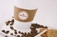Large Coffee Cup Mockup - Close up View