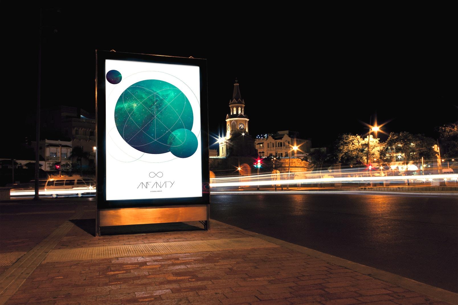 Mupi Billboard Mockup 2