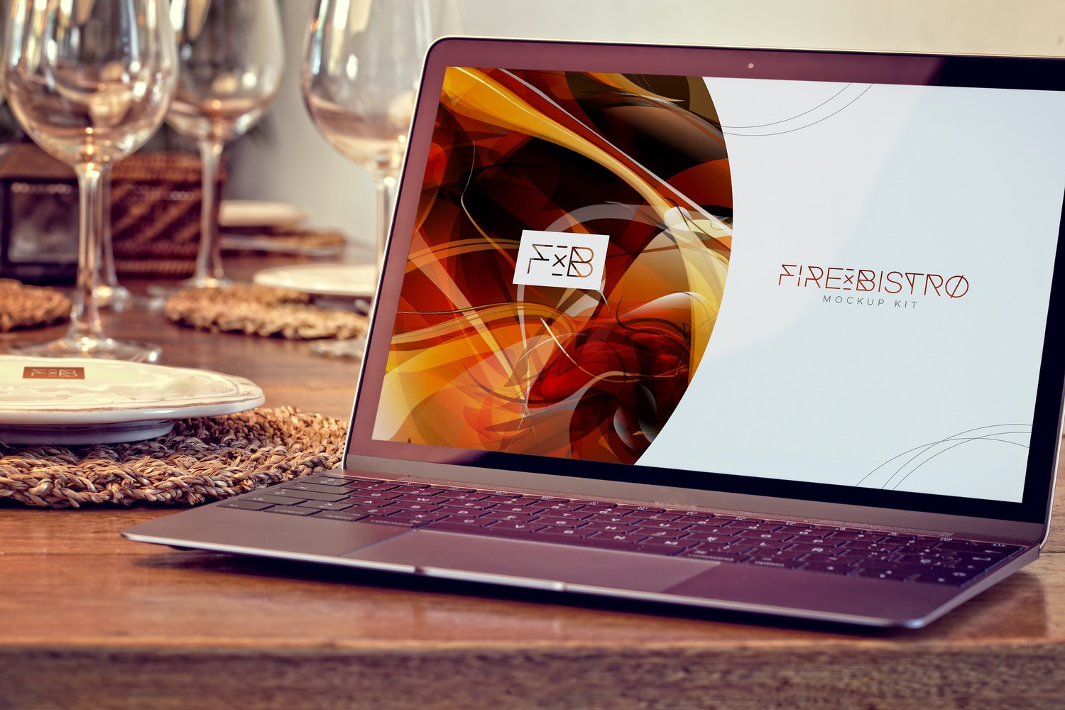 Macbook Mockup 01 (2) por 4to Pixel en Original Mockups