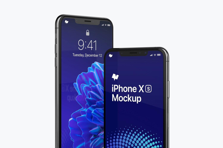 iPhone XS Max Mockup 03 (1) by Original Mockups on Original Mockups