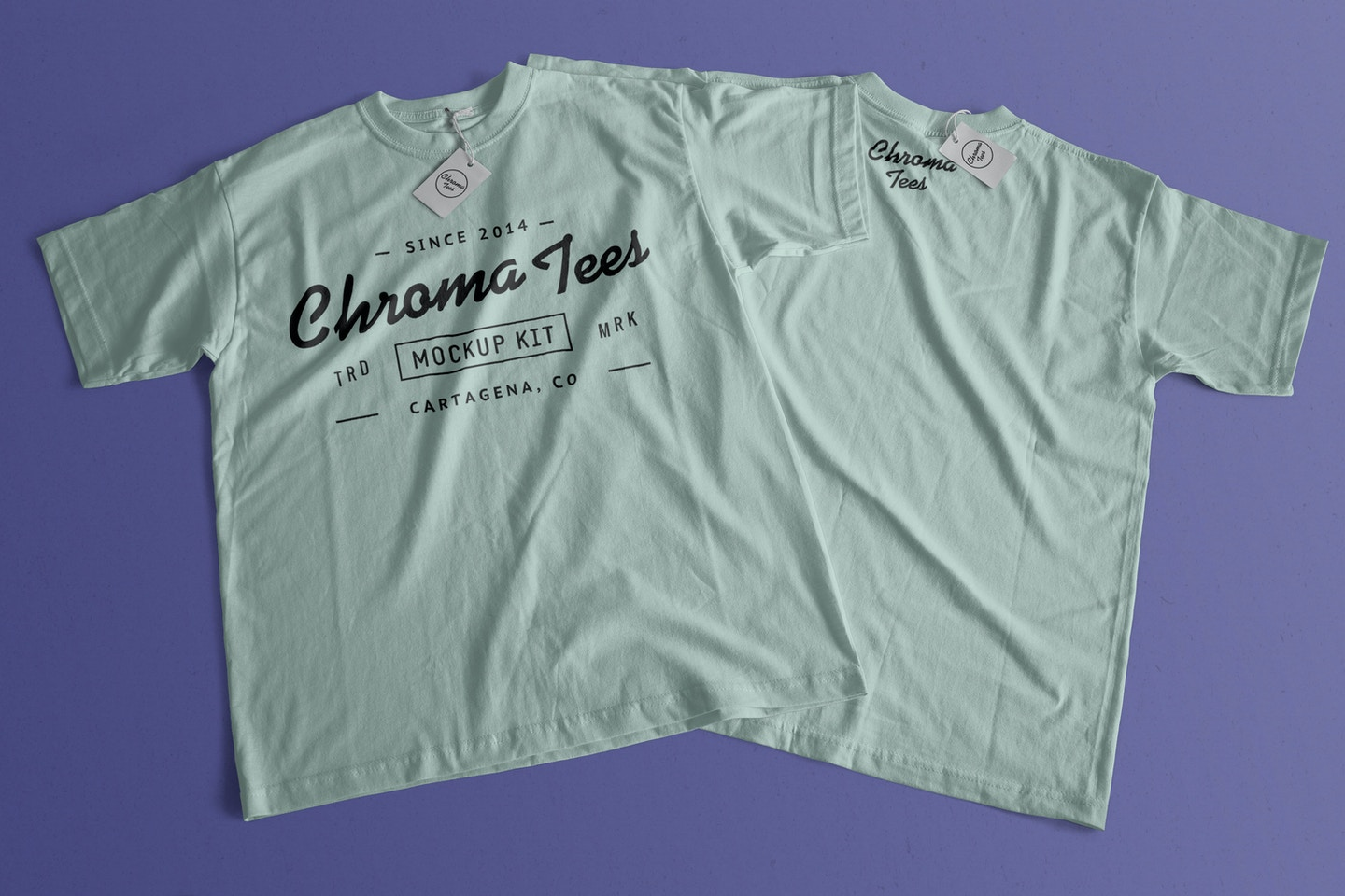 T-Shirt With Back Mockup 02