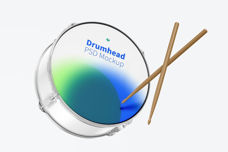 Drumhead Mockup, Falling
