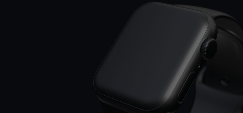 Clay Apple Watch Series 4 (44mm) Mockups
