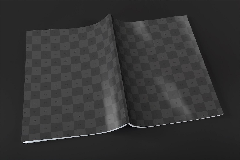 Usa los colores o texturas que deseas para mejorar la presentación de la revista.
