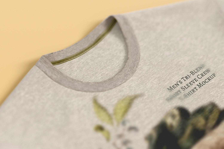 ¡Mira el detalle del desenfoque del objeto y como la textura de la tela no pierde protagonismo!