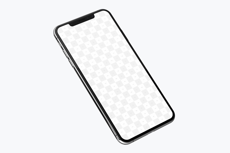iPhone XS Max Mockup 02 (2) by Original Mockups on Original Mockups