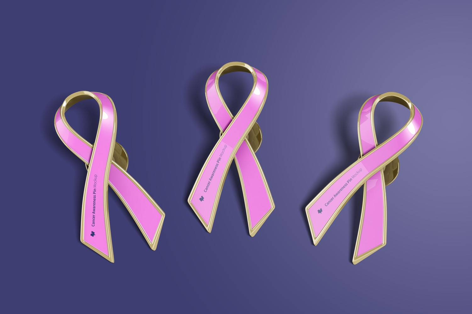 Change the color of the ribbon according to the Cancer type.
