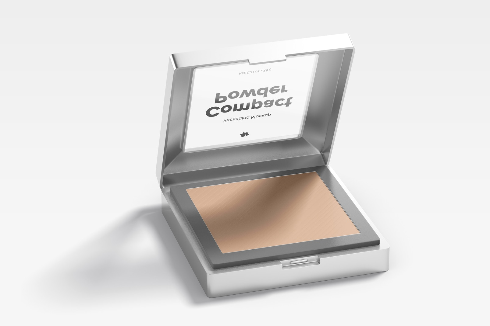 Compact Powder Packaging Mockup
