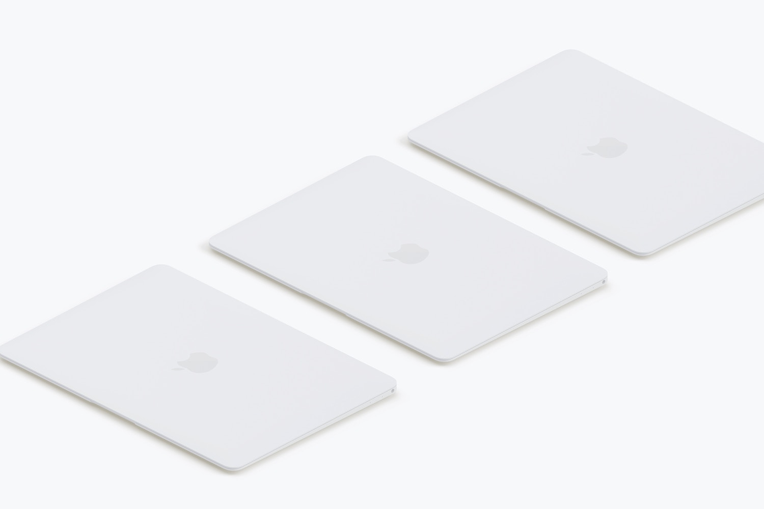 Clay MacBook Mockup, Isometric Left View 02 (3) by Original Mockups on Original Mockups