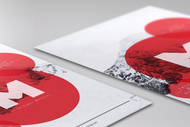 Flyer / Poster PSD Mockup 02 por Original Mockups en Original Mockups