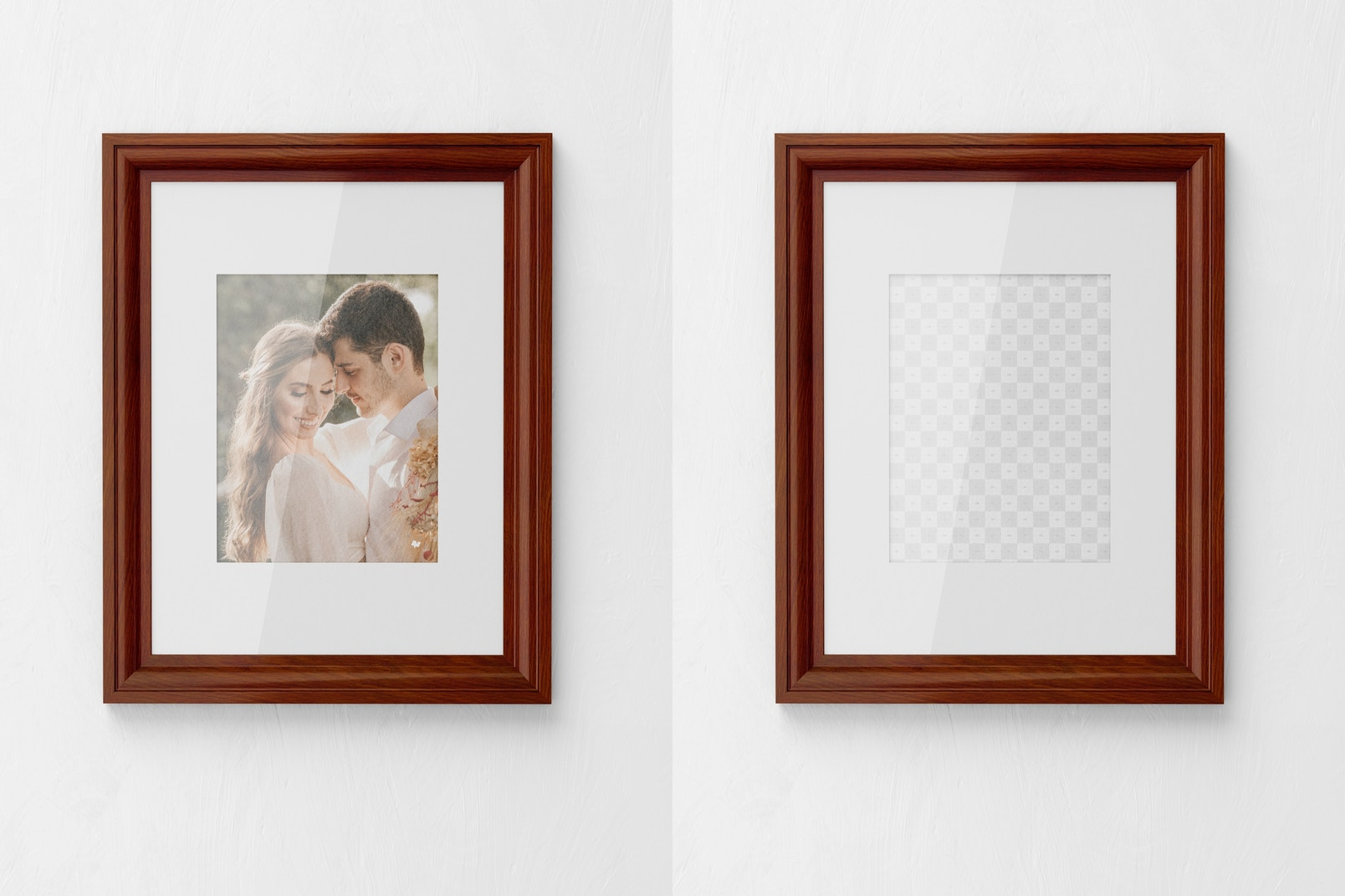 3:4 Photo Frame Mockup, Front View