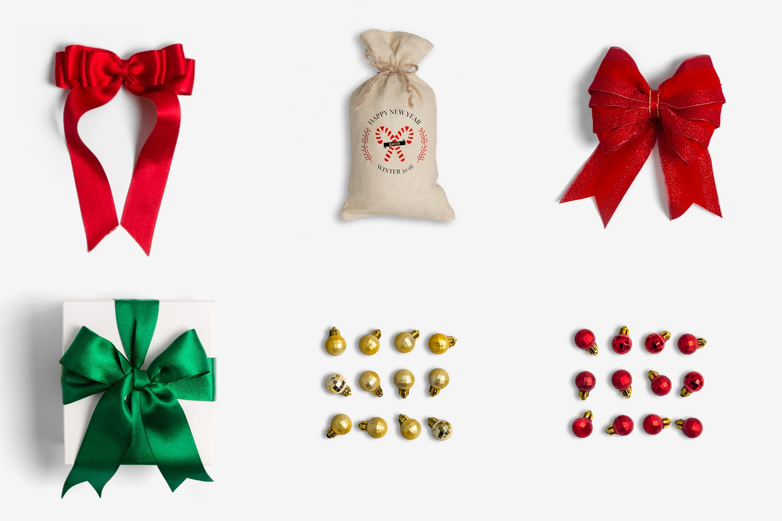 Christmas Decor Isolate Objects 03