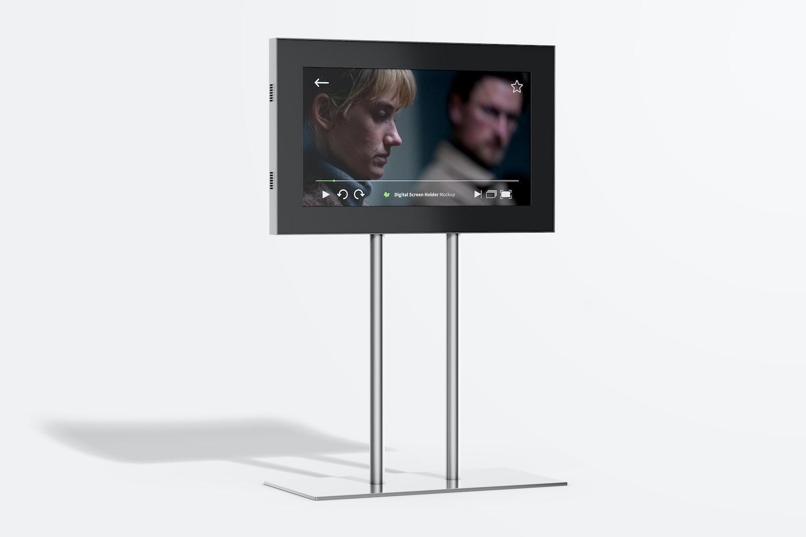 Digital Screen Holder  Mockup