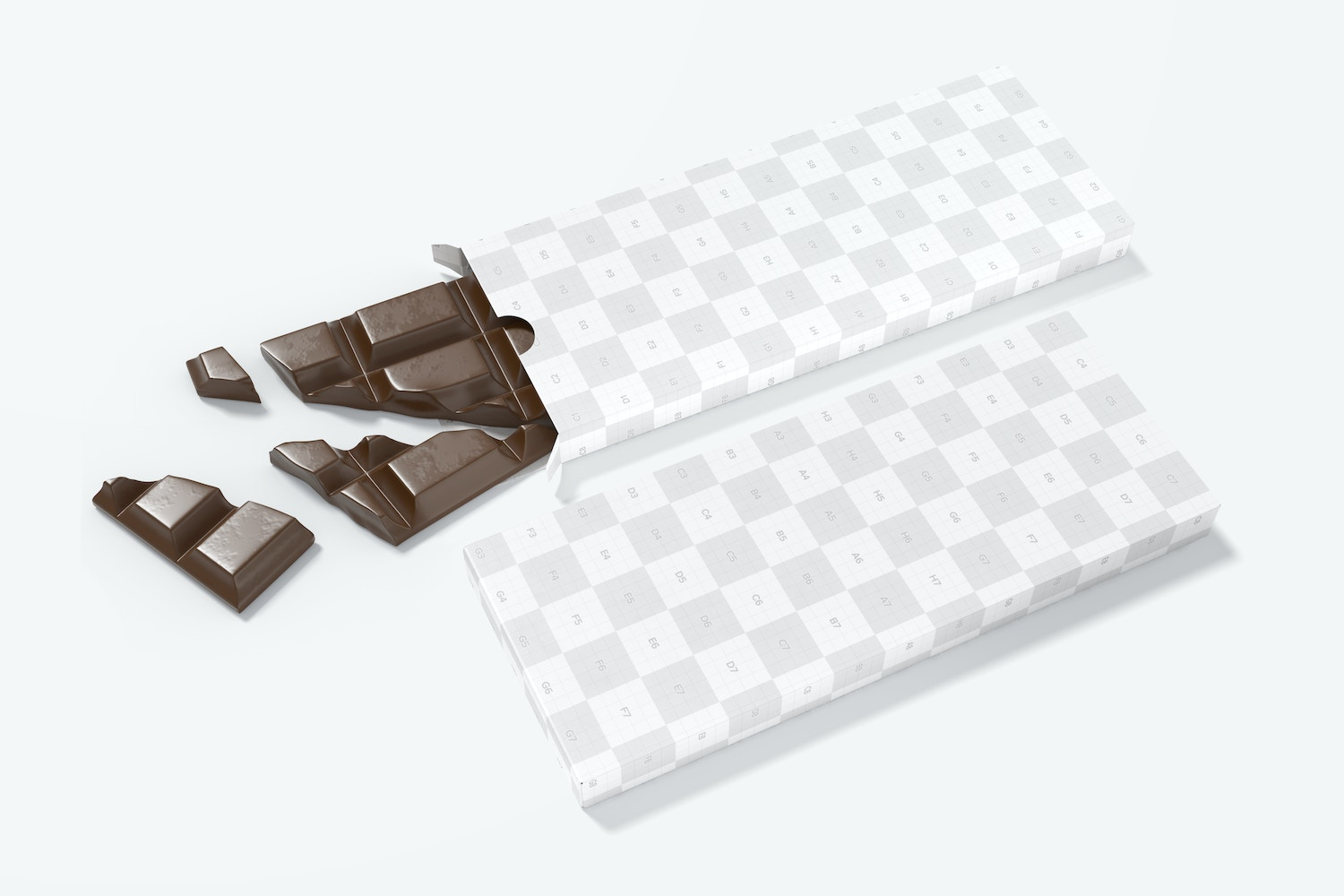 The chocolate bar is very realistic!