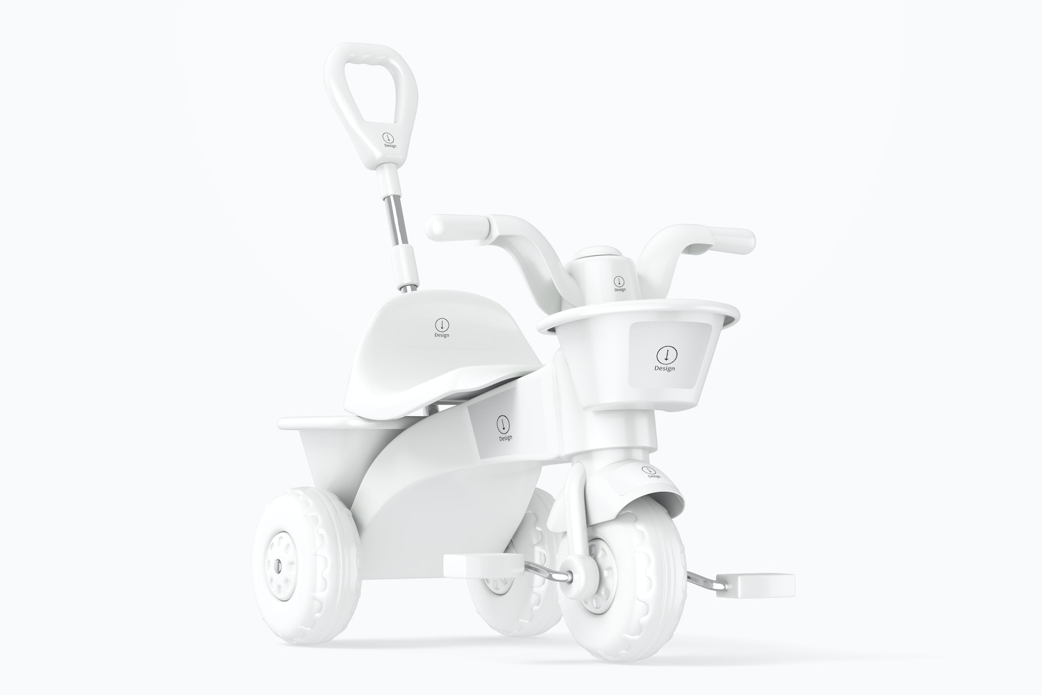 Tricycle Mockup, Right View