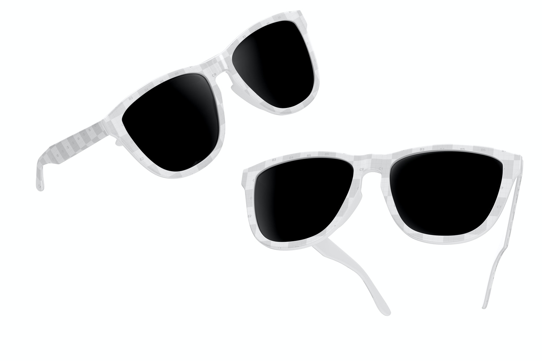 Sunglasses Mockup, Floating