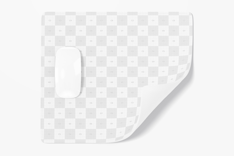 Rectangular Mouse Pad Mockup