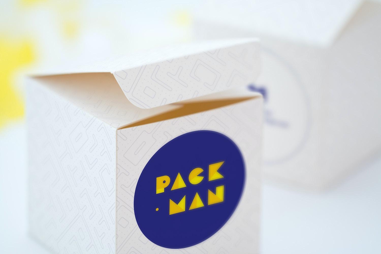 Soft Paper Cube Gift Box Mockup 02