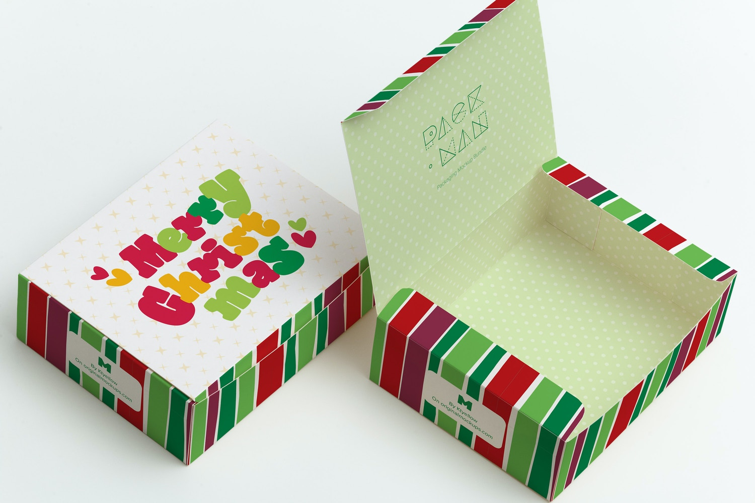 Sweet Box Mockup 06 by Ktyellow  on Original Mockups