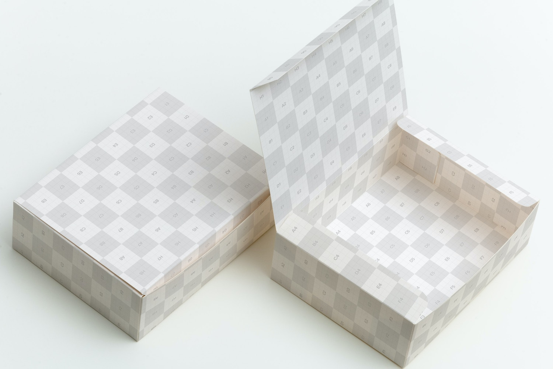 Maqueta para Caja de Dulces 06 por Ktyellow  en Original Mockups