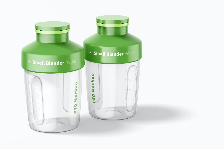 Small Blender Bottles Mockup