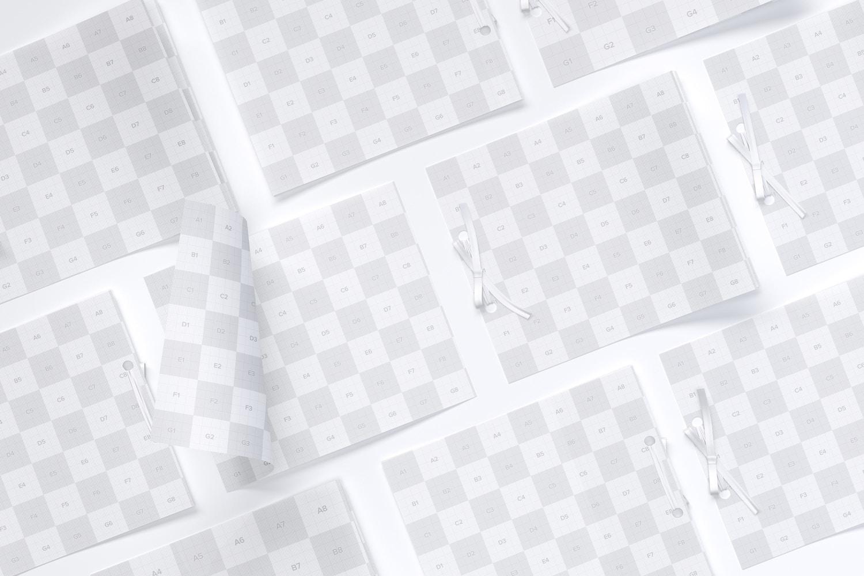 Wedding Cards Mockup, Grid Layout (2) by Original Mockups on Original Mockups