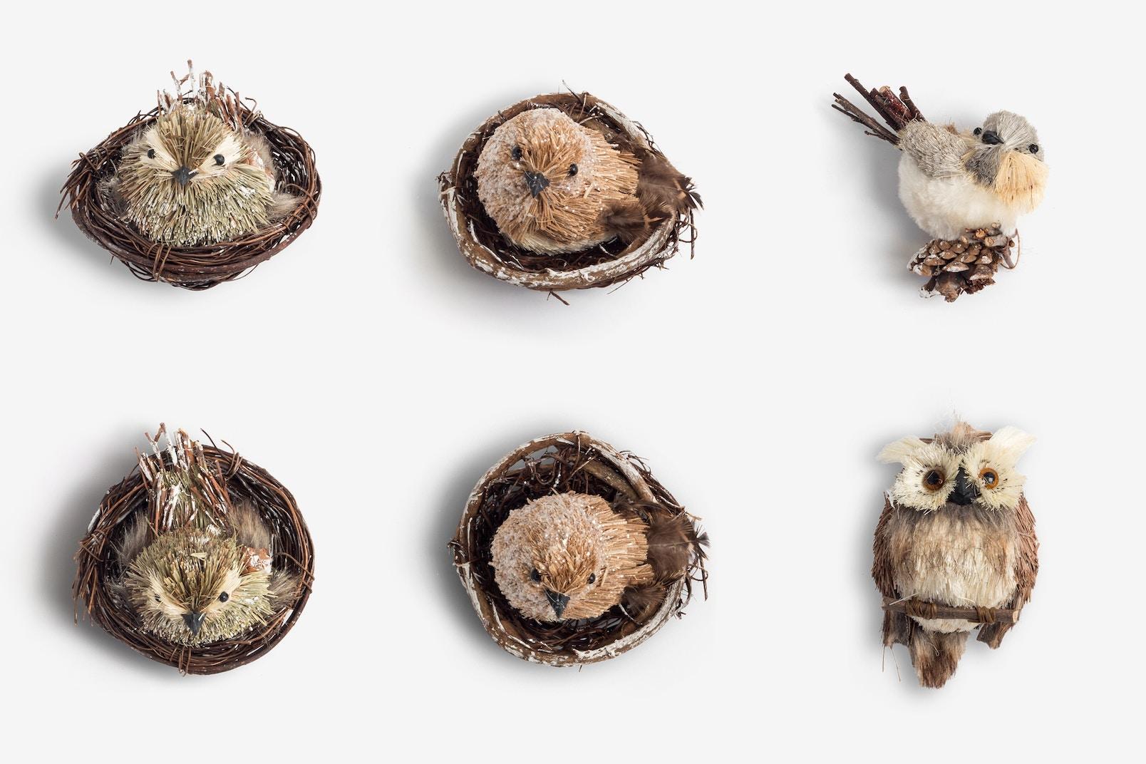 Christmas Animals Craft Isolate 01