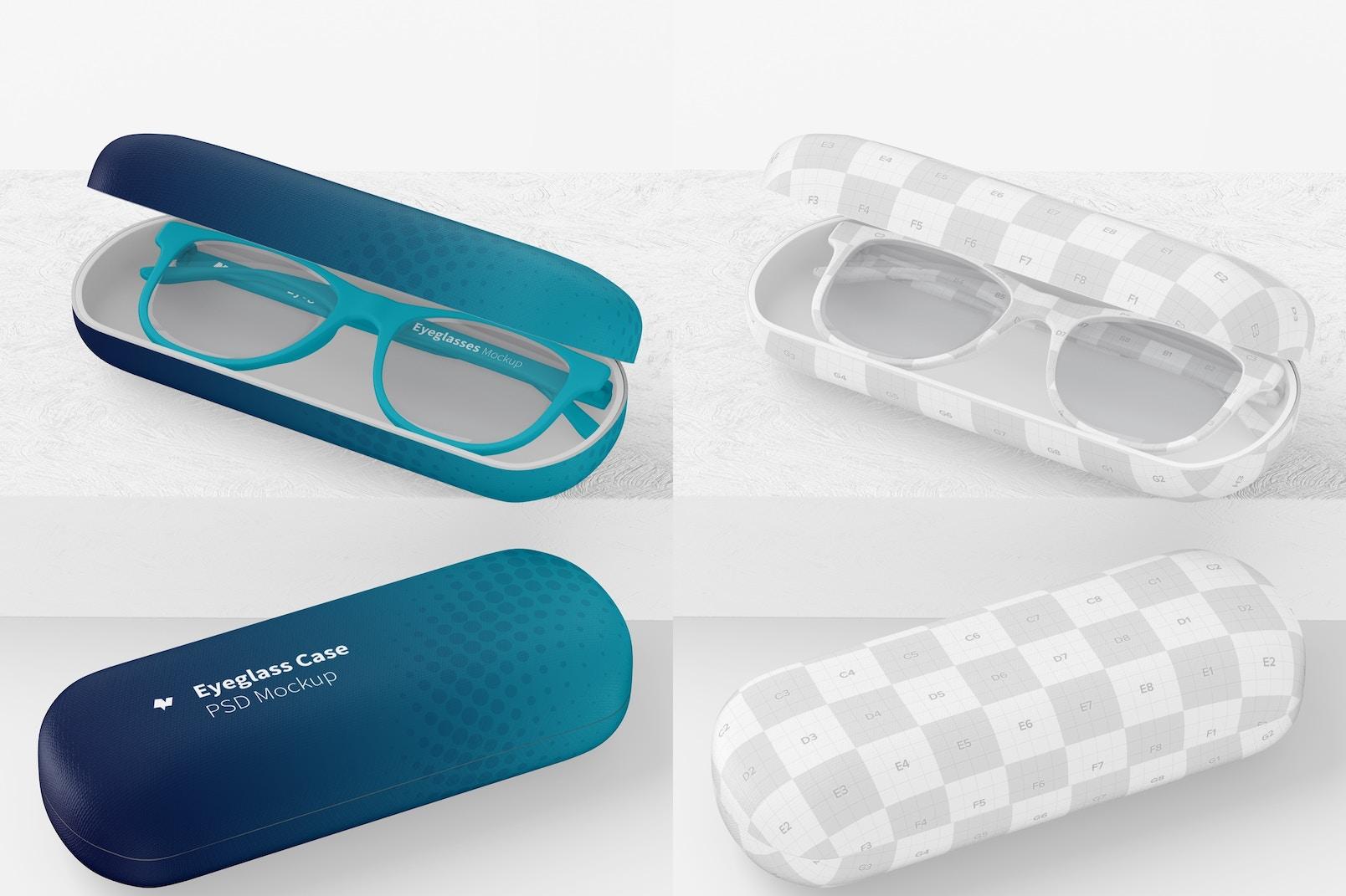 Eyeglass Cases Mockup