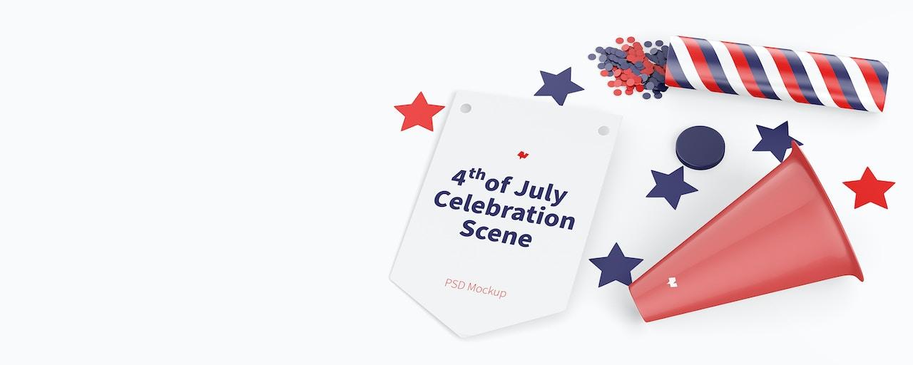 4th Of July Mockups