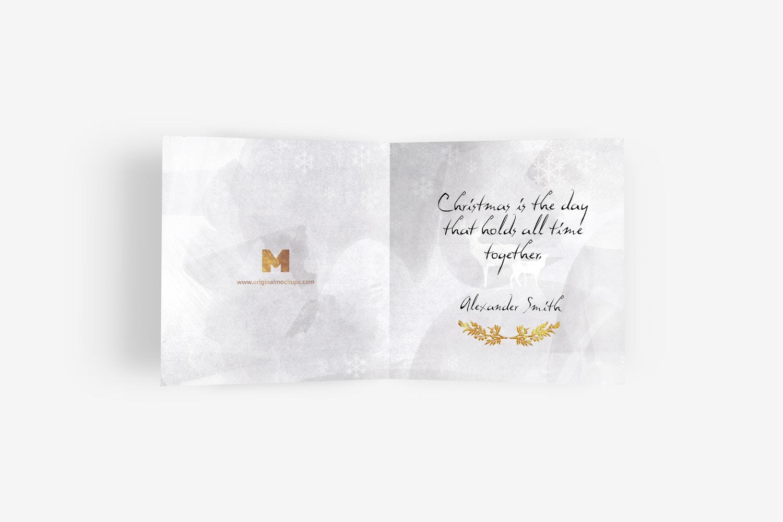 Greeting Card Mockup 01 by Original Mockups on Original Mockups