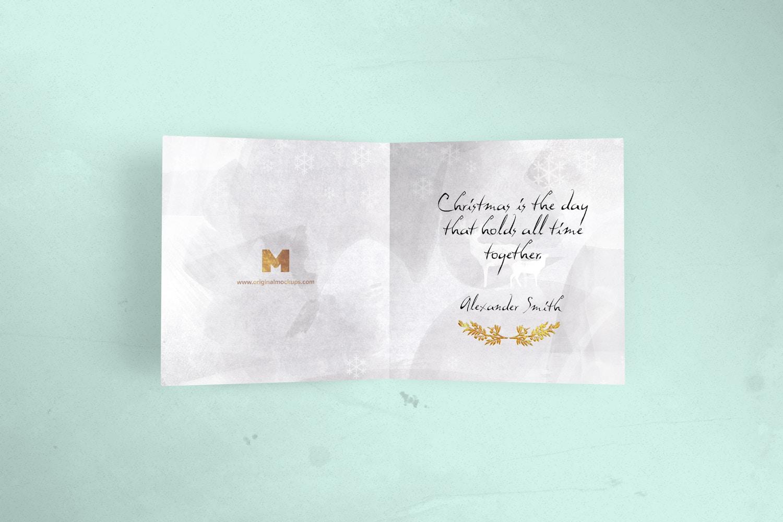 Greeting Card Mockup 01