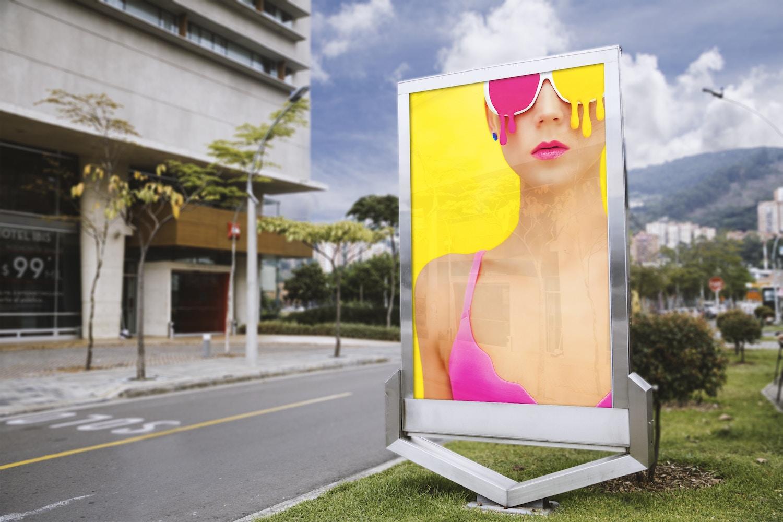 Cartelera para publicidad exterior