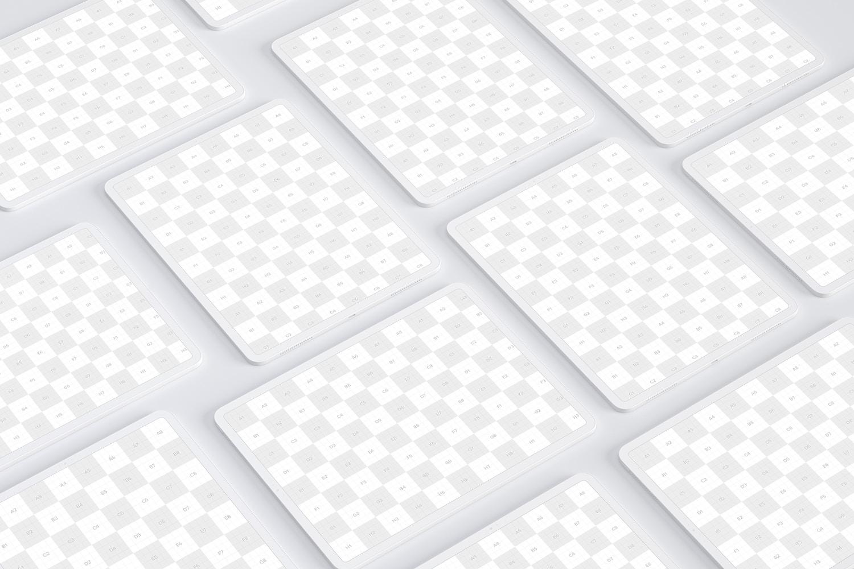 "Clay iPad Pro 12.9"" Mockup, Grid Layout 02 (2) by Original Mockups on Original Mockups"