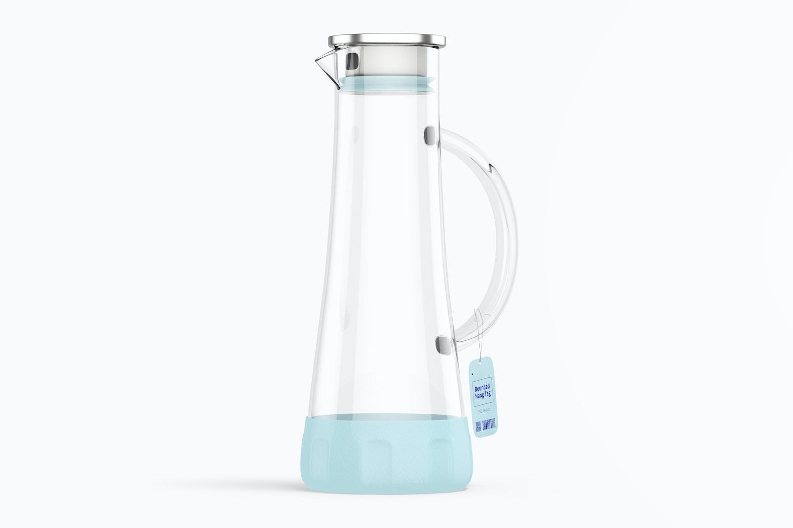 Anti-Skidding Glass Water Jar Mockup
