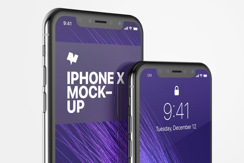 iPhone X Mockup 05 by Original Mockups on Original Mockups